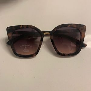 Aldo Tortoiseshell Sunglasses Brown NWT